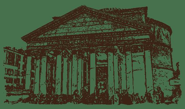 The Pantheon Illustration